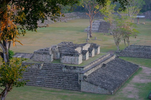 Copan Ruins at Sunrise