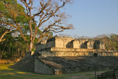 Honduras: Copan alone (AM) and home…