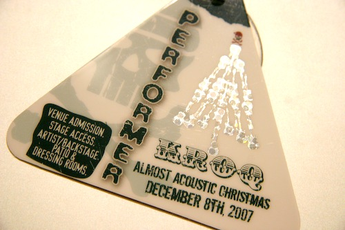 KROQ Acoustic Christmas Laminate
