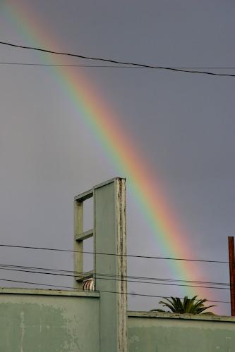 Santiago Street Lofts Rainbow December 2007