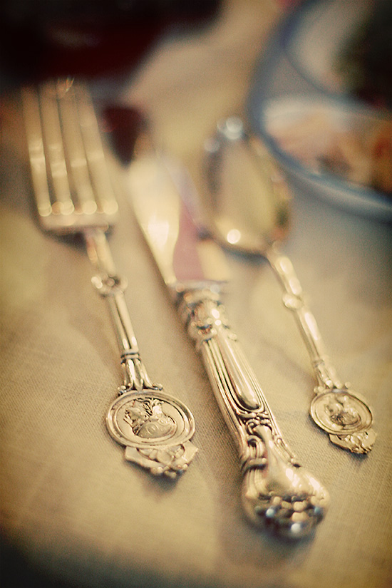 Antique Thanksgiving Silverware