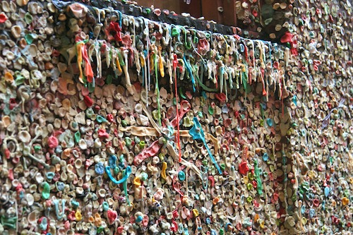 Seattle Gum Wall 2009