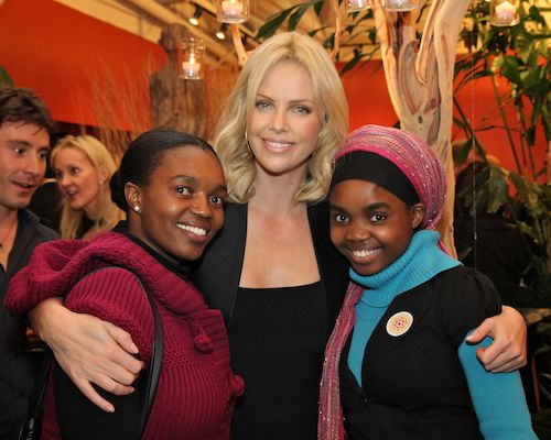 charlize theron promoting CTAOP