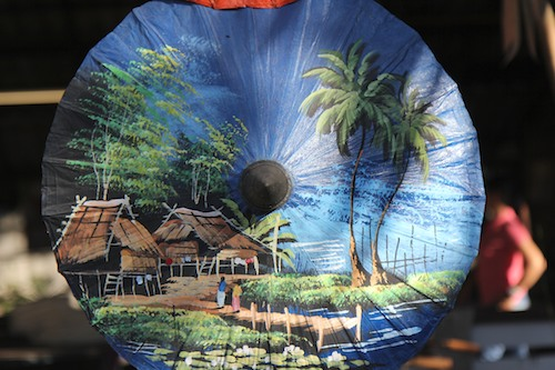 Painted Umbrella in Chiang Mai, Thailand