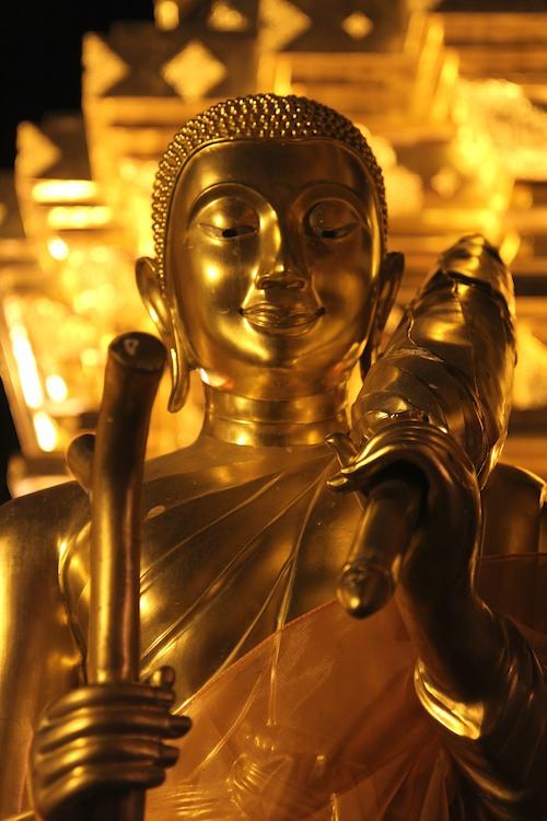 Buddha in Doi Suthep Temple, Chiang Mai, Thailand
