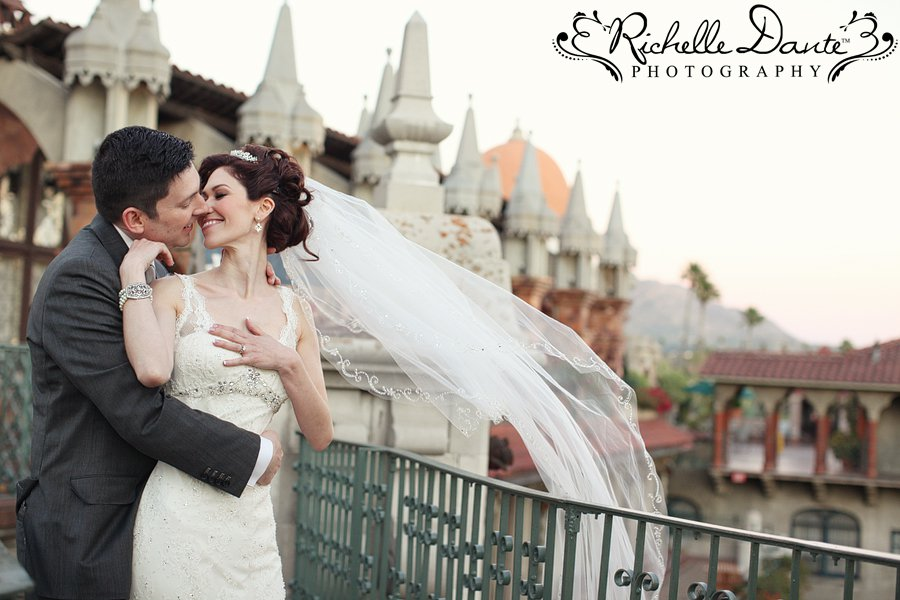 Jason and April wed at Mission Inn photo by Richelle Dante