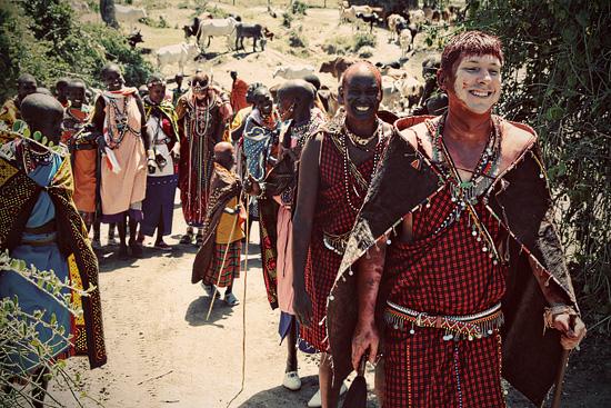 Maasai Wedding of April and Jason (Nasieku and Saruni Ole Mpeti)