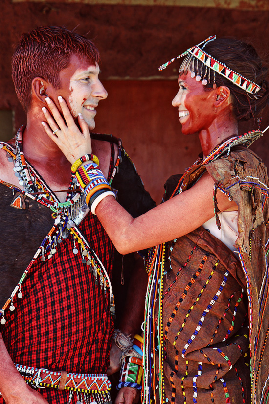 Maasai Wedding of April and Jason (Nasieku and Saruni Ole Mpeti)