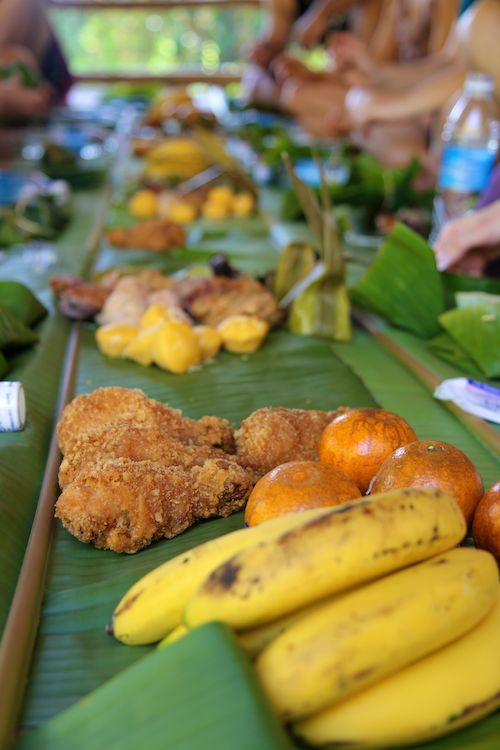 The food at Patara Elephant Camp, Chiang Mai, Thailand