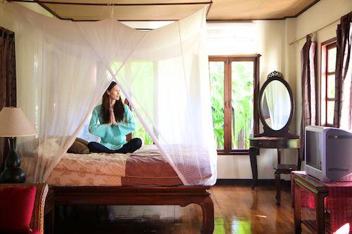 April Malina at Baan Orapin in Chiang Mai, Thailand