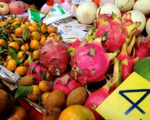 Chiang Mai market fruits