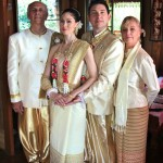 Thai wedding group photograph