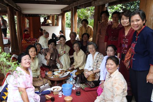 Group Shot At Thai Wedding Ceremony Of Wedding World Tour