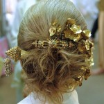 My mom's hair at the Thai wedding of our Wedding World Tour