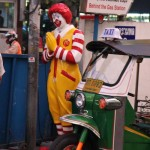Ronald McDonald in Bangkok, Thailand