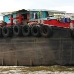 Barge in Bangkok, Thailand