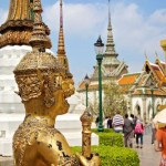 Statue at Royal Palace in Bangkok, Thailand
