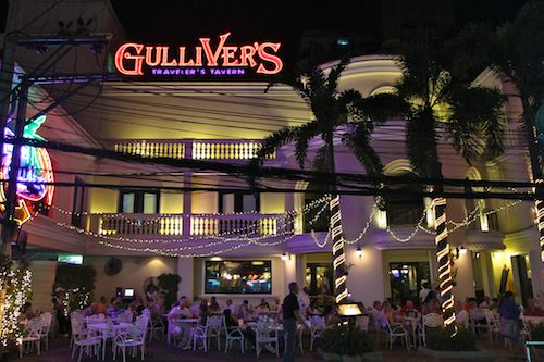 Gulliver's Tavern in Bangkok, Thailand