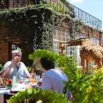 Lunch at Giraffe Manor in Nairobi during Wedding World Tour