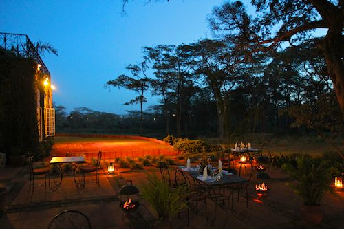 Night at Giraffe Manor in Nairobi during Wedding World Tour