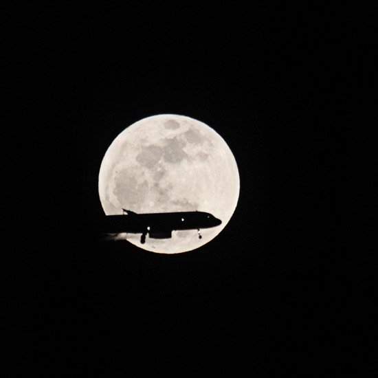 Supermoon! May 5, 2012 in Orange County, CA