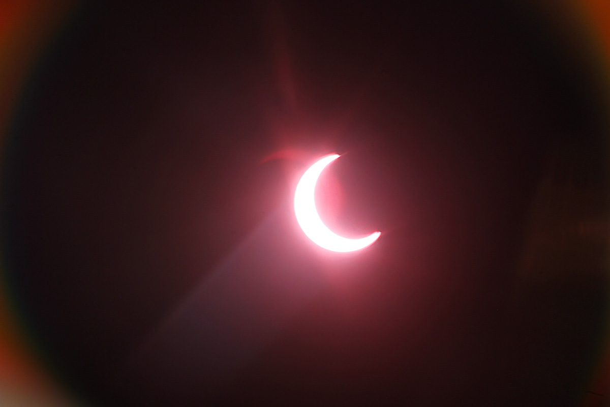 Solar Eclipse in Orange County, CA May 20, 2012